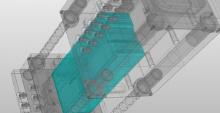 定心为固定电池和牵引模具